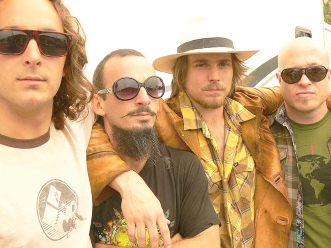 Lukas Nelson (second from right): Not just Willie Nelson's son.