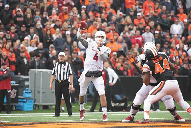 Luke Falk's first career start brought the Cougars a win over Oregon State.