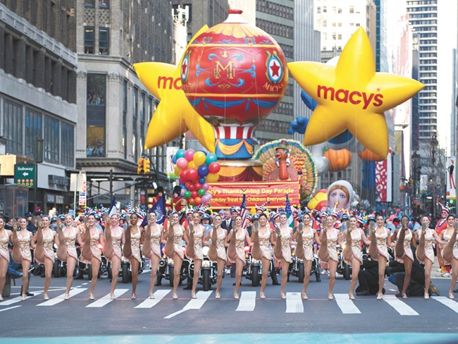 Macy\'s Thanksgiving Day Parade starts at 9am.