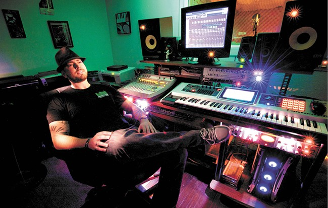 Marc Fechter at his Perfechter Productions studio. - YOUNG KWAK