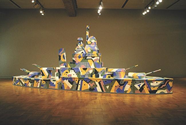 Marilyn Lysohir's The Dark Side of Dazzle. - JUNDT ART MUSEUM