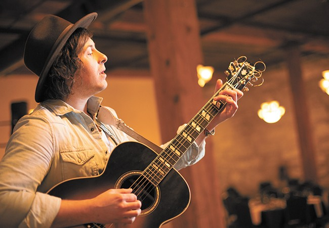 Marshall McLean plays Jan. 15
