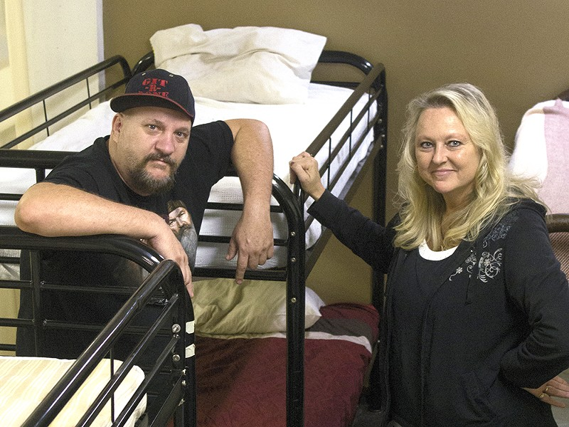 Marty and Julie McKinney are holding an open house at their shelter on Saturday. - SAMUEL SARGEANT