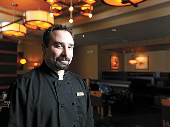 Max at Mirabeau's Charles Curtis says the availability of locally sourced food makes Spokane a hot dining spot.| - YOUNG KWAK