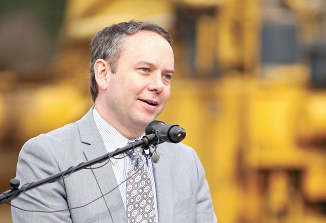Mayor David Condon made $172,500 this year. After council criticism, he turned down a $7,000 raise for next year. - YOUNG KWAK