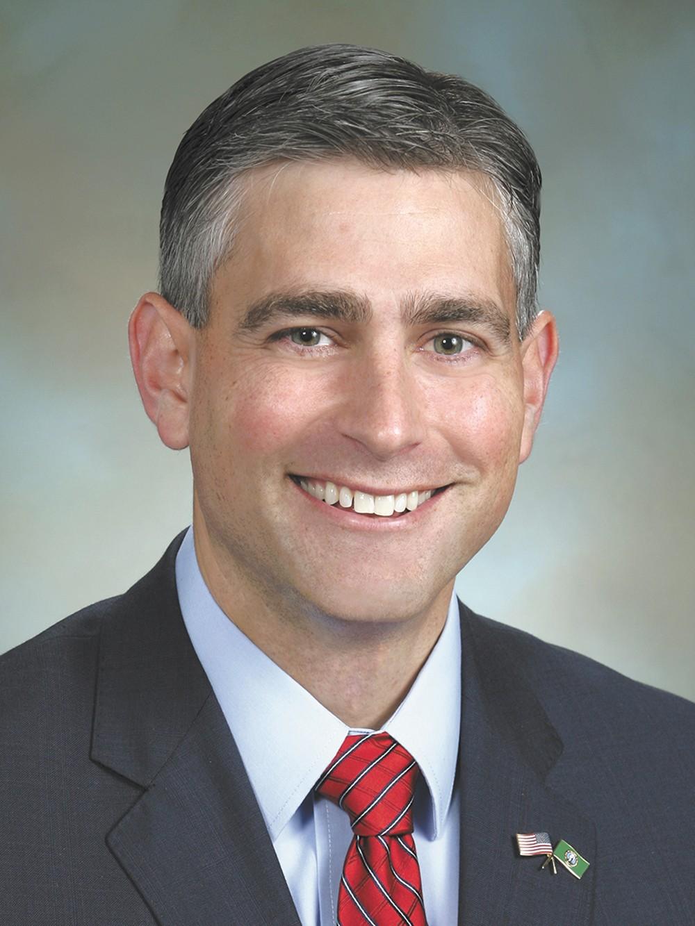 Michael Baumgartner is a Washington state senator representing the 6th District.