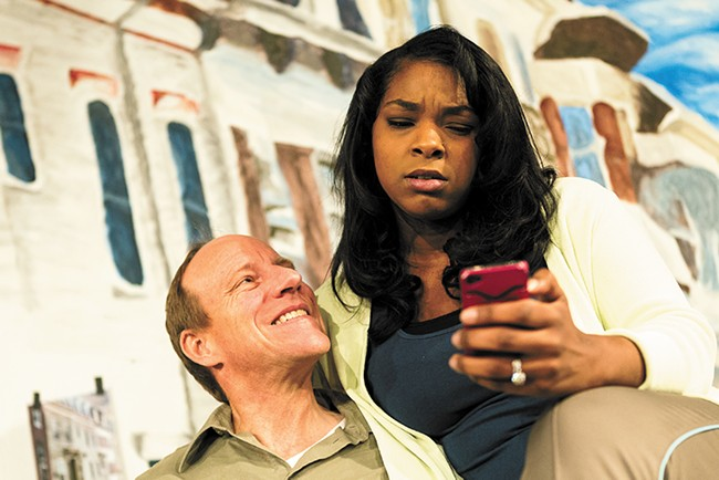 Michael Patten and Kaila Towers in Good People. - STEPHEN SCHLANGE