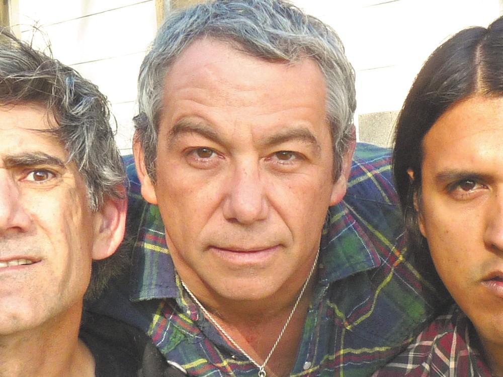 Mike Watt (center) and the Missing Men