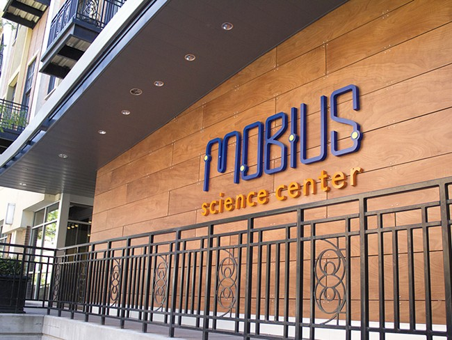 Mobius's space cost $12 million to retrofit.| - NICHOLAS GRAUERT