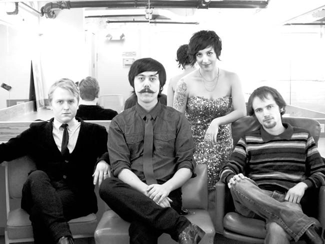 Mon Cheri (from left): Patrick McHenry, Brandon Vasquez, Caroline Francis, Kurt Olson