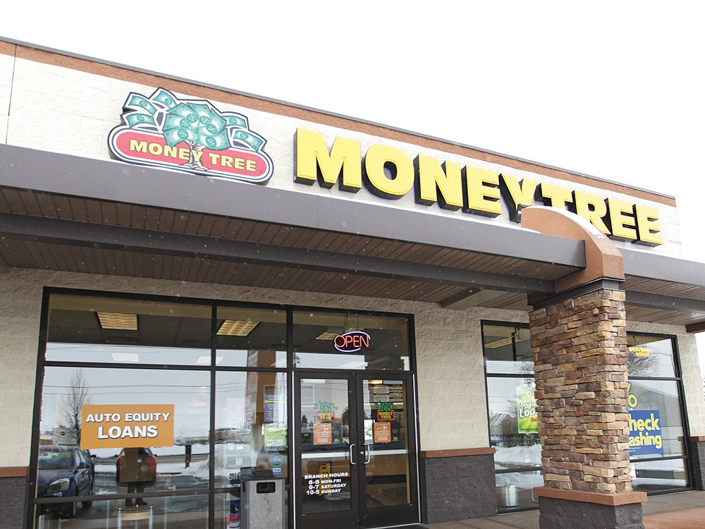 Moneytree has branches throughout the Northwest, including Post Falls and Coeur d\'Alene. - YOUNG KWAK