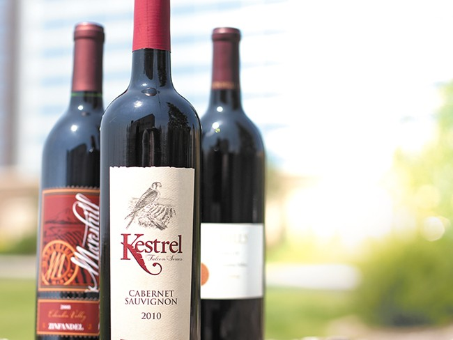 More than 50 wineries, including these regional offerings, will be available for tasting at Vintage Spokane. - YOUNG KWAK
