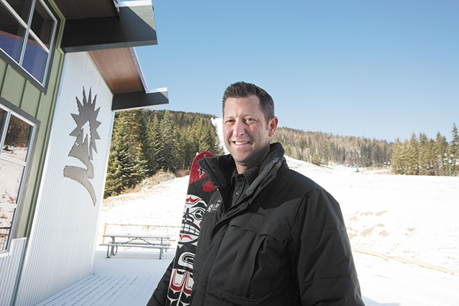 """Mt. Spokane GM Brad McQuarrie traces his resort's success to """"the many people who have gifted their time and money and resources into this wonderful asset."""" - YOUNG KWAK"""