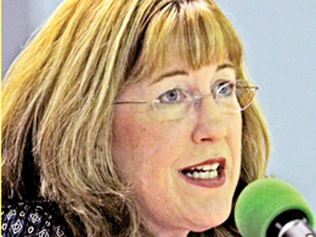 Nancy McLaughlin wants state Sen. Lisa Brown\'s job.