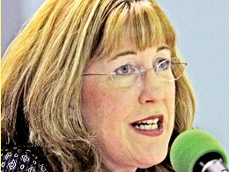 Nancy McLaughlin wants state Sen. Lisa Brown\'s job.