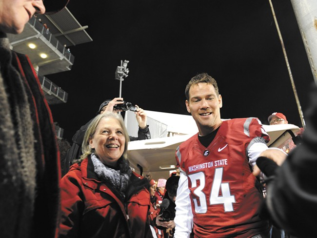 Native Spokanite and former WSU and NFL star Steve Gleason returns to town for an ALS benefit this weekend.
