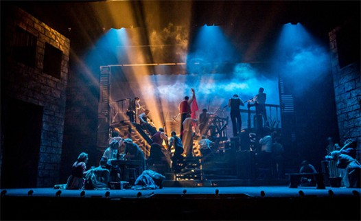 Theatre Baton Rouge produced Les Miserables in 2013. - KEITHDIXON.INFO