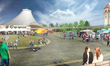 New design concepts for the Riverfront Park master plan