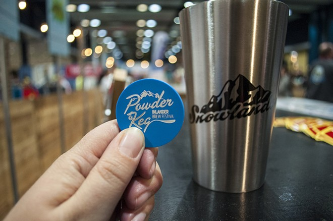 The Powder Keg Brew Festival at the Snowlander Expo - SARAH WURTZ
