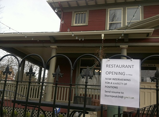After sitting dormant this winter, the former EJ's Garden Bistro is preparing to reopen as Browne's Tavern. - LISA WAANANEN