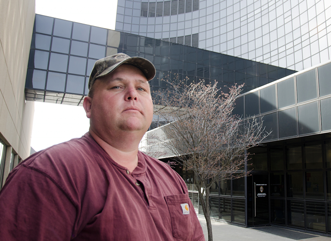 Robert Lee has filed a federal lawsuit on behalf of his 19-year-old son, alleging the Spokane County Jail violated his son's civil rights by failing to provide timely mental health medication. - JACOB JONES