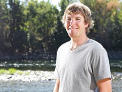 Spokane Riverkeeper Bart Mihailovich in 2011, when he was awarded the Inlander's Peirone Prize. - YOUNG KWAK