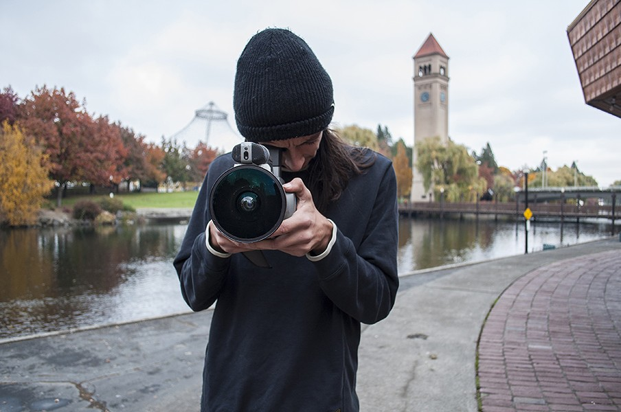 Marko at Riverfront Park. - SARAH WURTZ