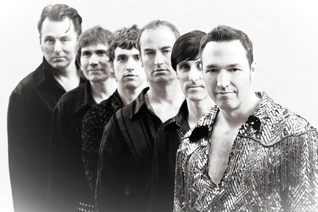 Next week, Super Diamond plays Spokane for the first time in its two decades as a band. Spokane's Vince Littleton is second from left.