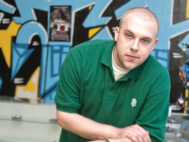 Nick Klepacki, also known as Unique, at FTH Music - DANIKA PARISEAU