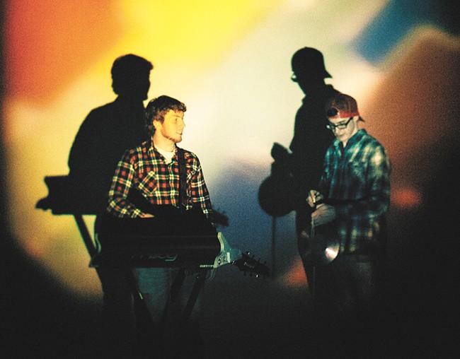Nick Palmieri, left, and Bradley Spracklin bring a human element to their math-rock sound. - KRISTEN BLACK