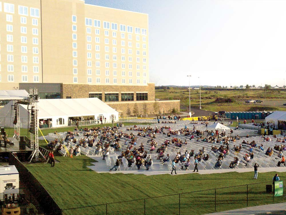Northern Quest's new venue holds 5,000. - YOUNG KWAK