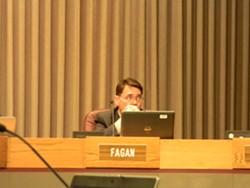 Councilman Mike Fagan has been particularly outspoken about bikini barista. - JAKE THOMAS
