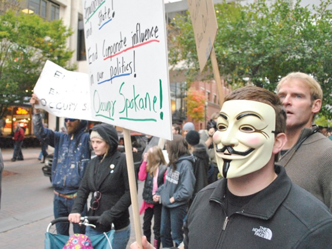 Occupy Spokane organizers say the movement helped shift the public debate.