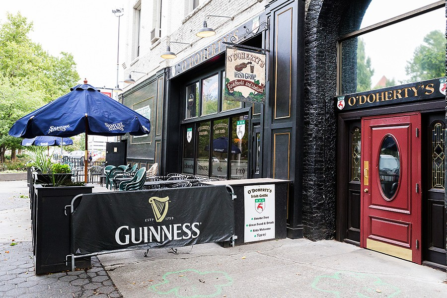 O'Doherty's Irish Grille in downtown Spokane - STEPHEN SCHLANGE