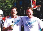 <p>OK, I kind of made that last part up. But I did always like that picture of the Argentinians who rode for Team Inlander at the Polo Classic a few years ago. What a life!</p> <p>This snapshot's more like a good place to start — Jer and I at Hoopfest in 1997. We even won the Media Division that year. The truth is, we grew up here and came back after college to be a part of all that Spokane has to offer. Hoopfest, marmots, potholes — we love all of it. And since 1993, we've been documenting it for you in the Inlander every week.</p>
