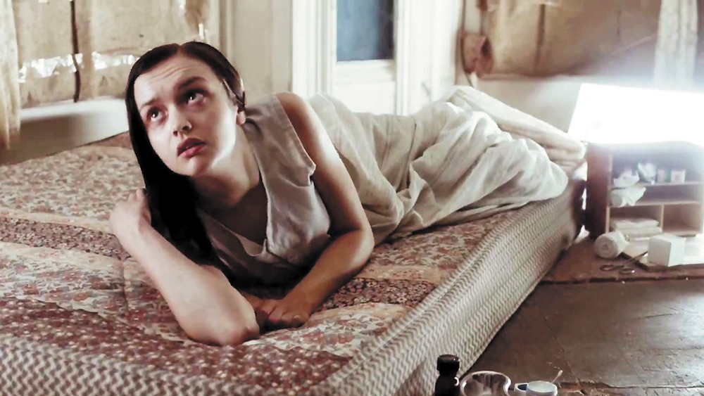 Olivia Cooke as the demon-addled young woman in The Quiet Ones.