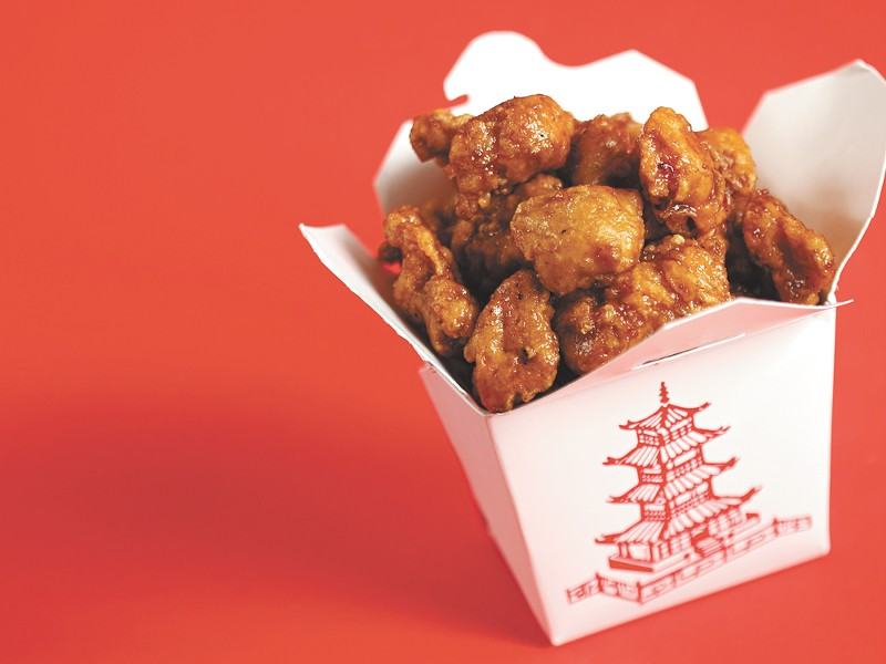 Orange chicken isn't really Chinese food, but oh well. It's hard to beat Panda Express' chicken. - YOUNG KWAK