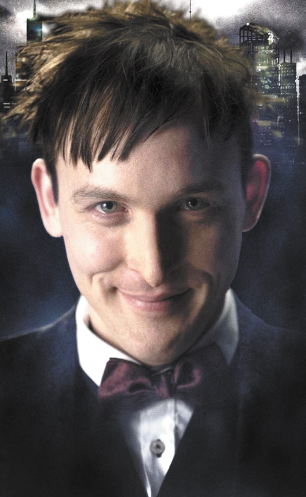 Oswald Cobblepot, the man who will become The Penguin.