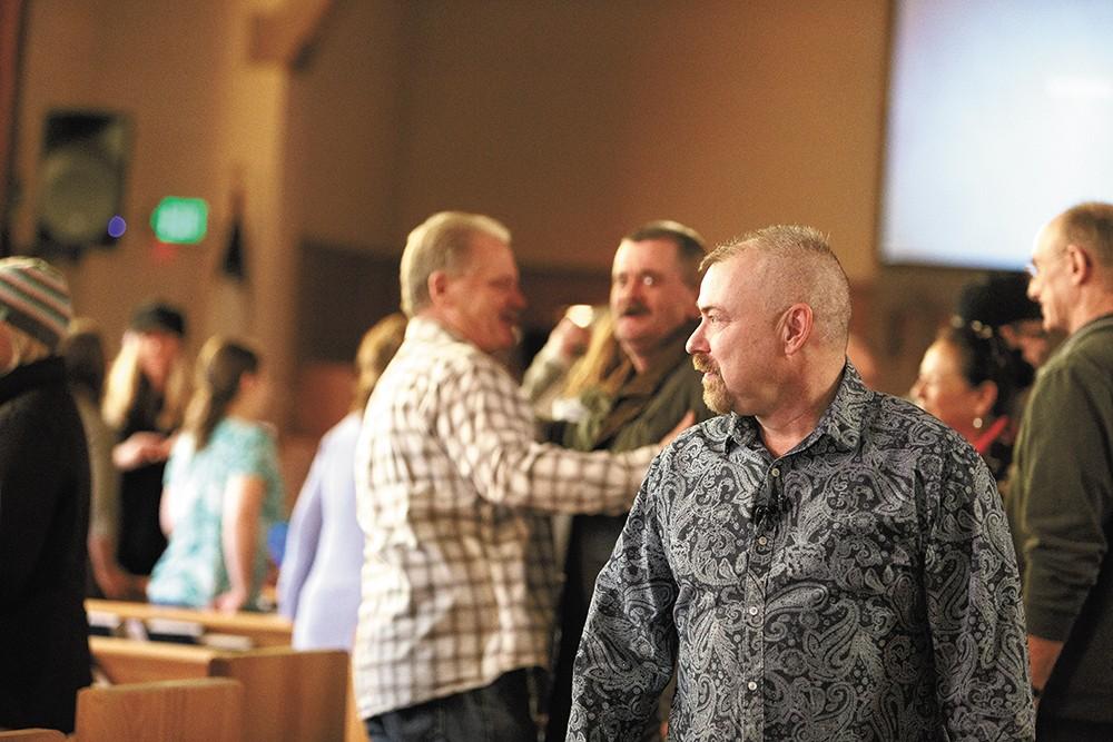 Pastor Rob Bryceson. - YOUNG KWAK