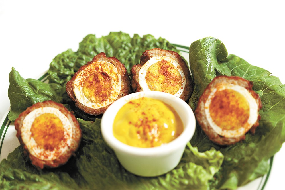 Patty's Scottish Egg dish from O'Doherty's. - YOUNG KWAK