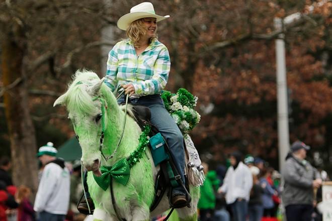 "Joy Katterfeld rides rescued horse ""Cricket"". - YOUNG KWAK"
