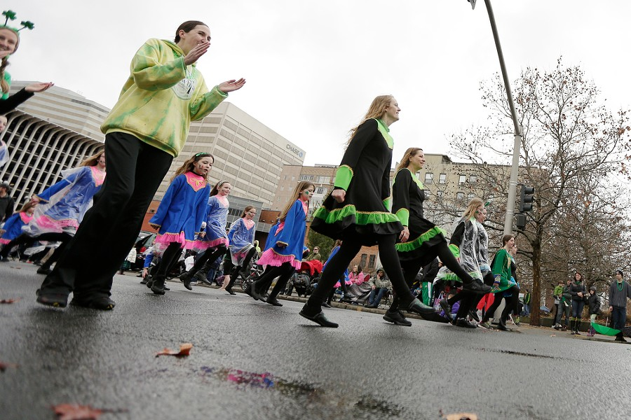 Kelly Irish Dancers perform. - YOUNG KWAK