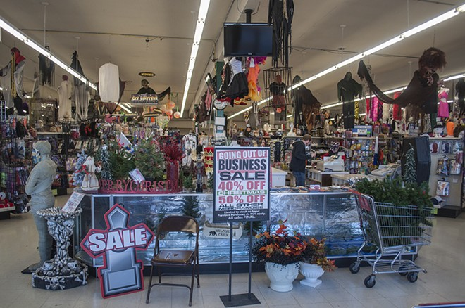 After 32 years of business, the Display House will close. All merchandise is currently marked down by 40-50 percent. - SARAH WURTZ