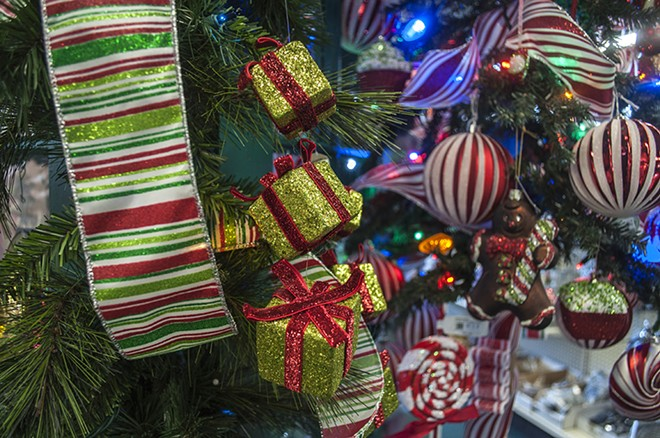 The Display House will sell off its inventory of holiday decor before the end of the year. - SARAH WURTZ