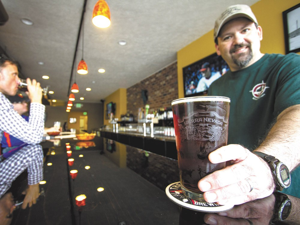 Pints Alehouse owner Derek Quist with a cold brew. - JEFF FERGUSON