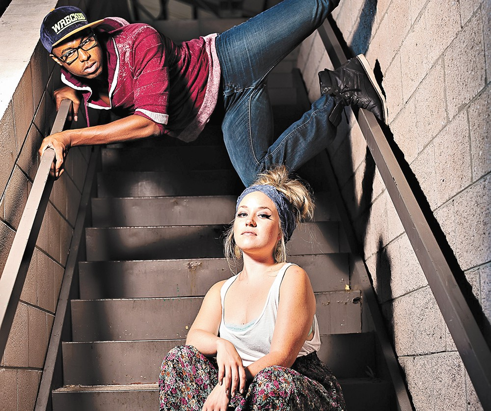 Pop/hip-hop group dnk.'s moniker is a combination of its two leads David Davis and Kayla Erb's names.