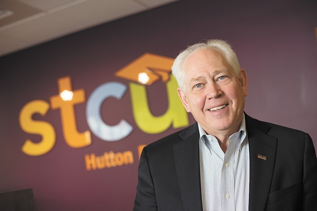 """President/CEO Tom Johnson: """"We have great employees at STCU who find great value in serving all of our members."""" - YOUNG KWAK"""