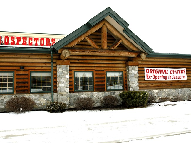 Prospectors\' original owners are set to reopen the restaurant this week. - MARSHALL E. PETERSON JR.