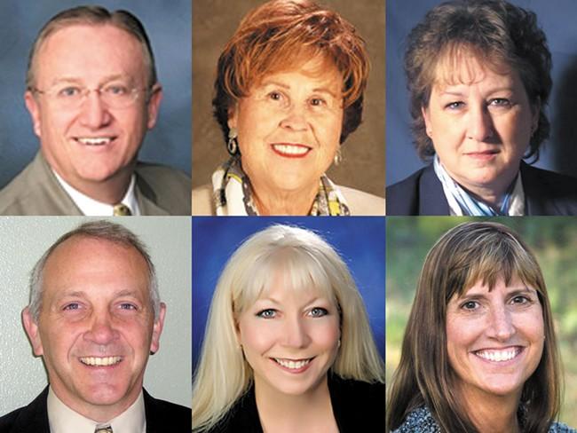Ralph Baker, Sadie Charlene Cooney, Vicki Horton, Andrew Jackson, Gina McKenzie, Lori Wick