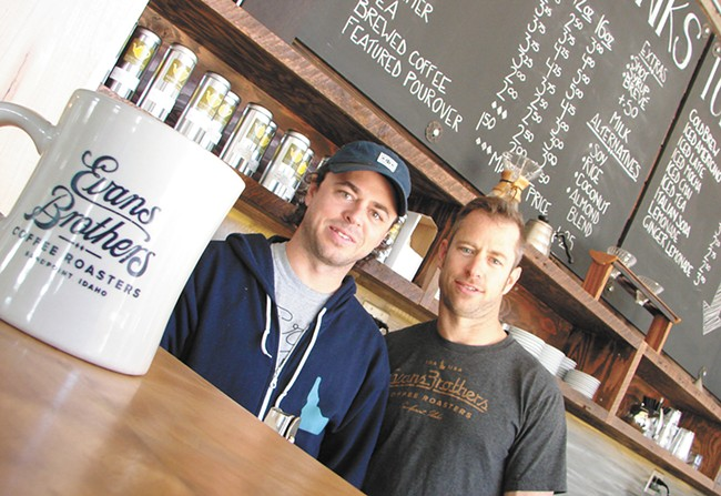 Randy (left) and Rick Evans of Evans Brothers Cafe. - CARRIE SCOZZARO